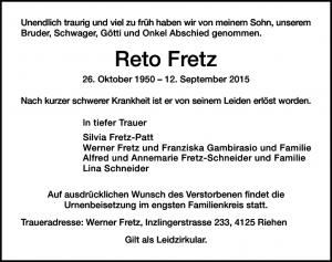 Fretz Reto